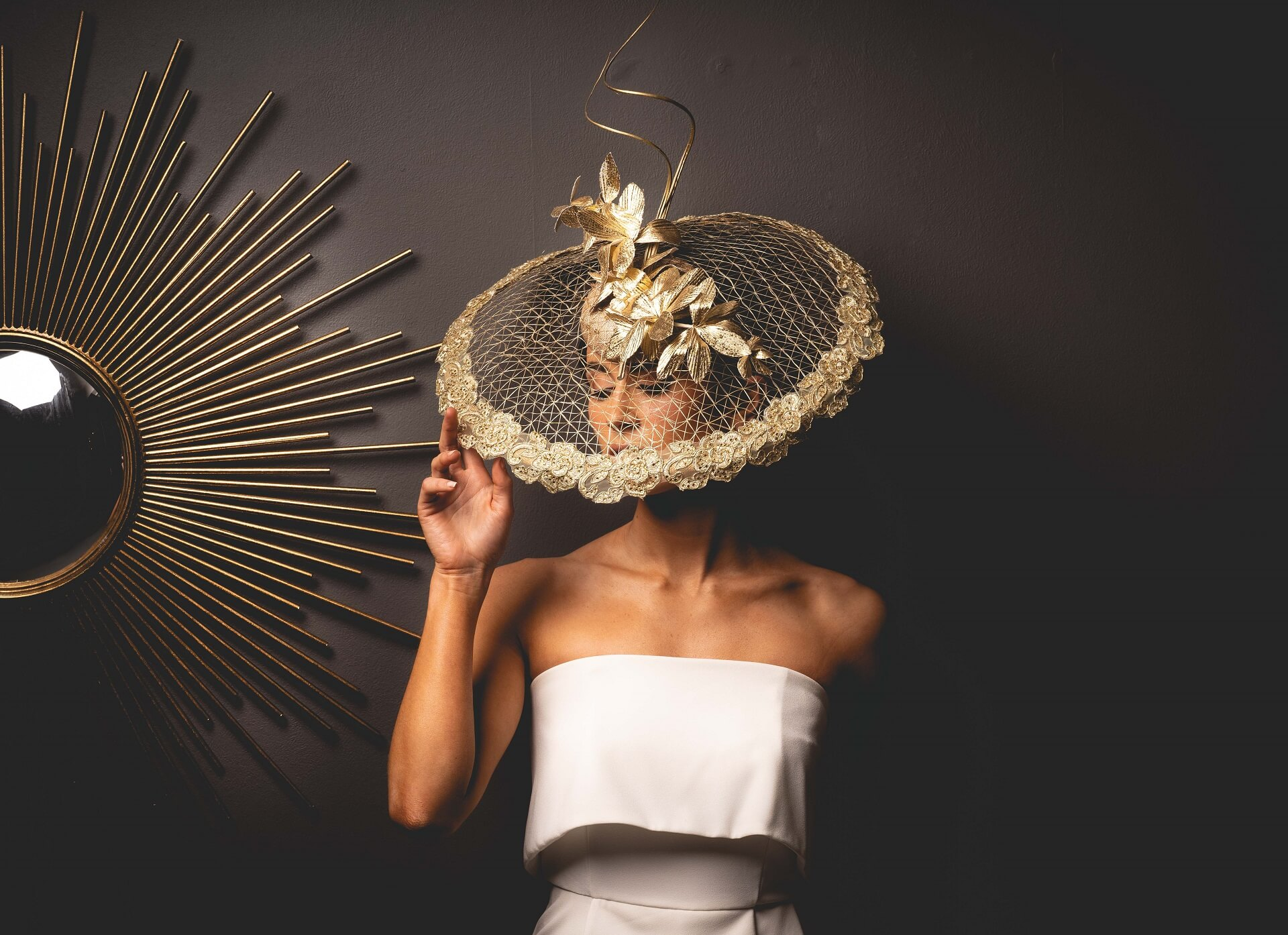 Elizabeth Christina Design Bespoke headpieces & bridal millinery.
